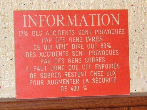 Message d'information